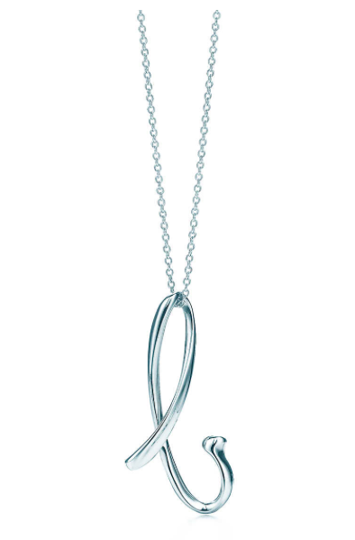 Tiffany & Co Letter Necklace - Life Without Louboutins