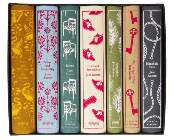 Jane Austen Hardcover Penguin Classics Collection