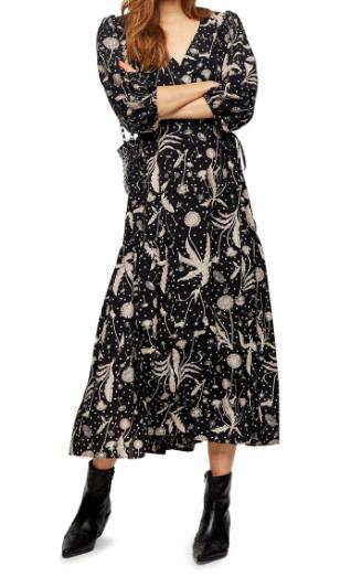 Topshop Print Dress.png