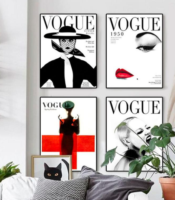 Vogue Covers Canvas Posters.png