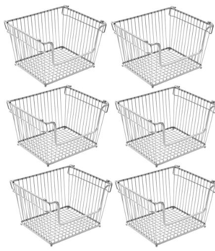 Metal Storage Baskets
