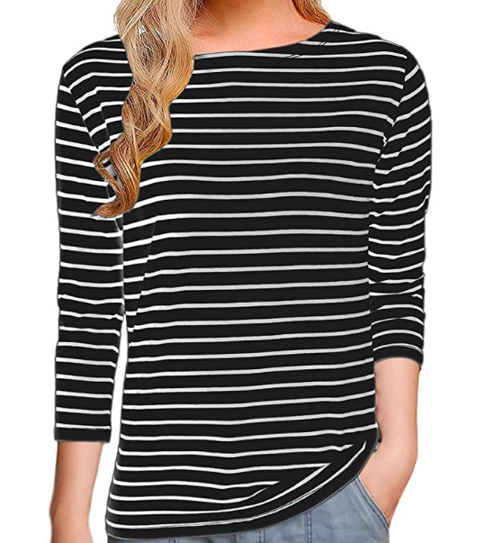 Black striped