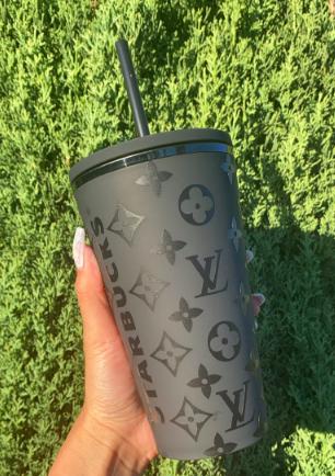 LV Starbucks Cup